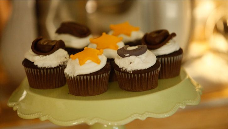 German Chocolate Cupcakes from Hallmark Movie Channel's Murder, She Baked: A Chocolate Chip