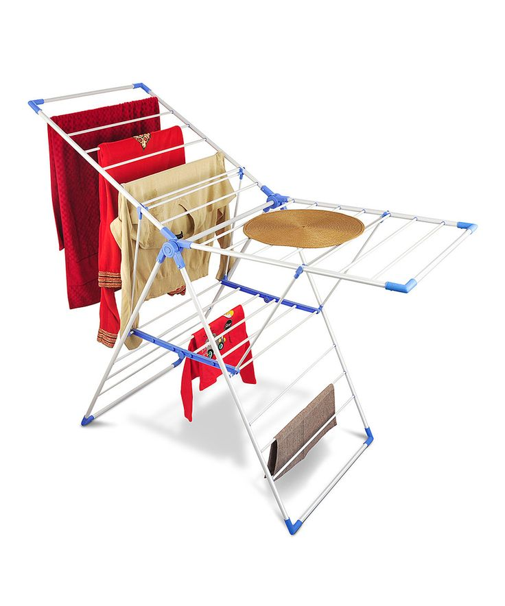 Look what I found on #zulily! Blue & White Collapsible Clothes Drying Stand by Bonita #zulilyfinds