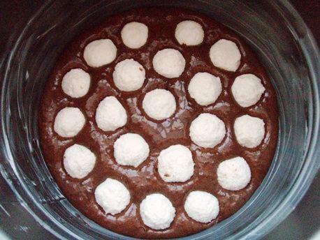 Шоколадный пирог с творожными шариками - пошаговый рецепт с фото на Повар.ру