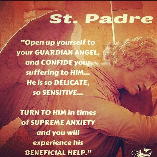Turn to your Guardian angel in times of distress and joy, they are such an under used blessing!