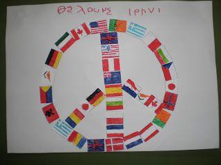 5ο Νηπιαγωγείο Τρίπολης: Ειρήνη, όχι πόλεμος
