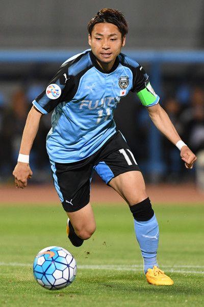Yu Kobayashi of Kawasaki Frontale in action during the AFC Champions League Group G match between Kawasaki Frontale and Eastern SC at Kawasaki Todoroki Stadium on May 9, 2017 in Kawasaki, Japan.