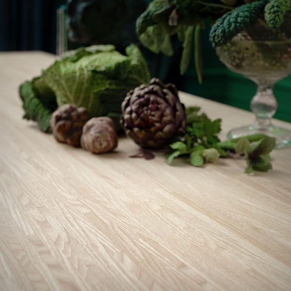 Pinnarp werkblad ikea #hout #keuken #werkblad