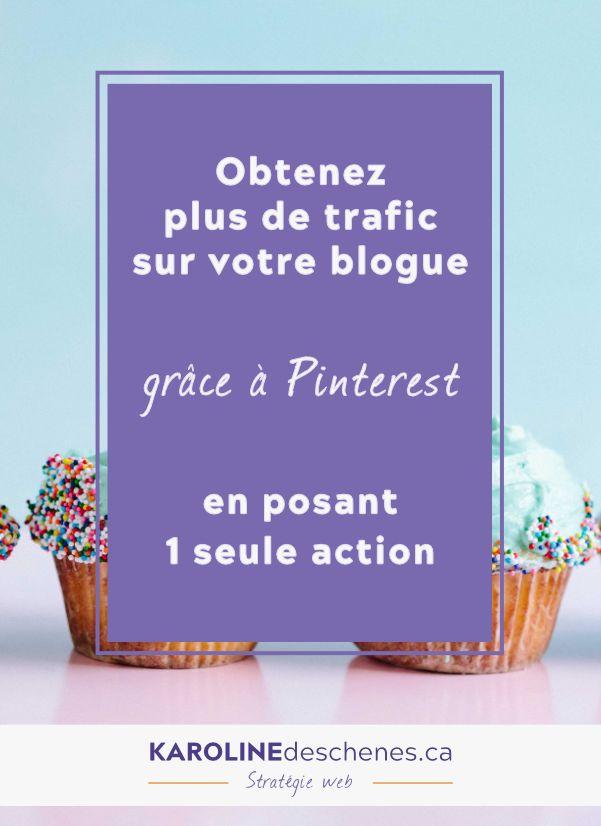 Obtenez plus de trafic sur votre blogue, grâce à Pinterest, même si vous n'utilisez pas la plateforme. #pinterest #pinterestmarketing #blogue #blogging