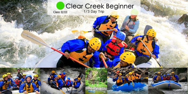The clear creek rafting is created naturally in a historic mining valley along with other scenic establishments.  While on your rafting trip, you may also encounter the wildlife inhabitants that populate that area, such as, bighorn sheep, mountain lion, beer, muskrats, etc., to name a few.