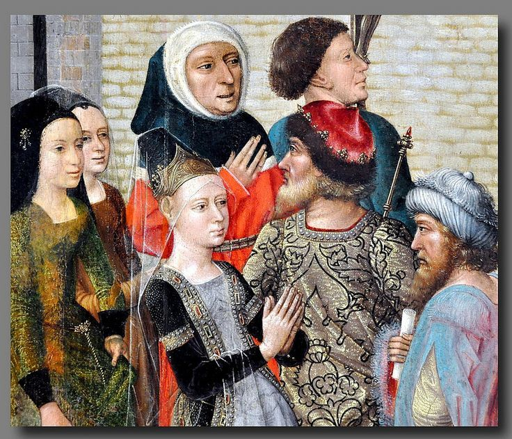 Master of the Legend of St Catherine (Netherlandish) last quarter of the 15th century - Scenes from the Life of St. Catherine brussell