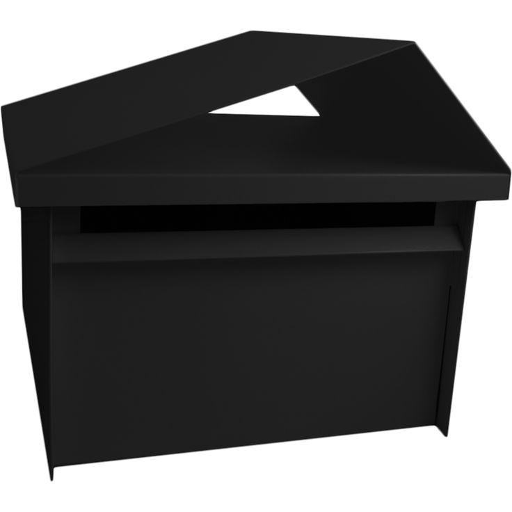 Sandleford Tiger Post Mounted Black Letterbox $105
