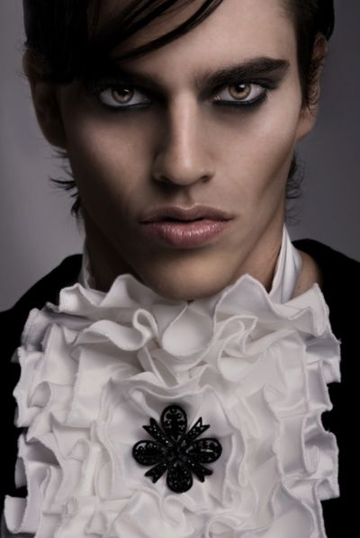 Going to do Isaiah's make up like this for his costume.