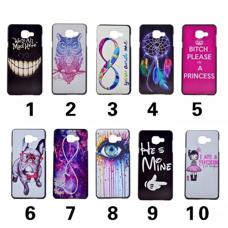 Case For Samsung Galaxy A5 2016 A510 A510F Coloured Drawing Phone Cover For Samsung A5 2016 Plastic Hard Phone Cases