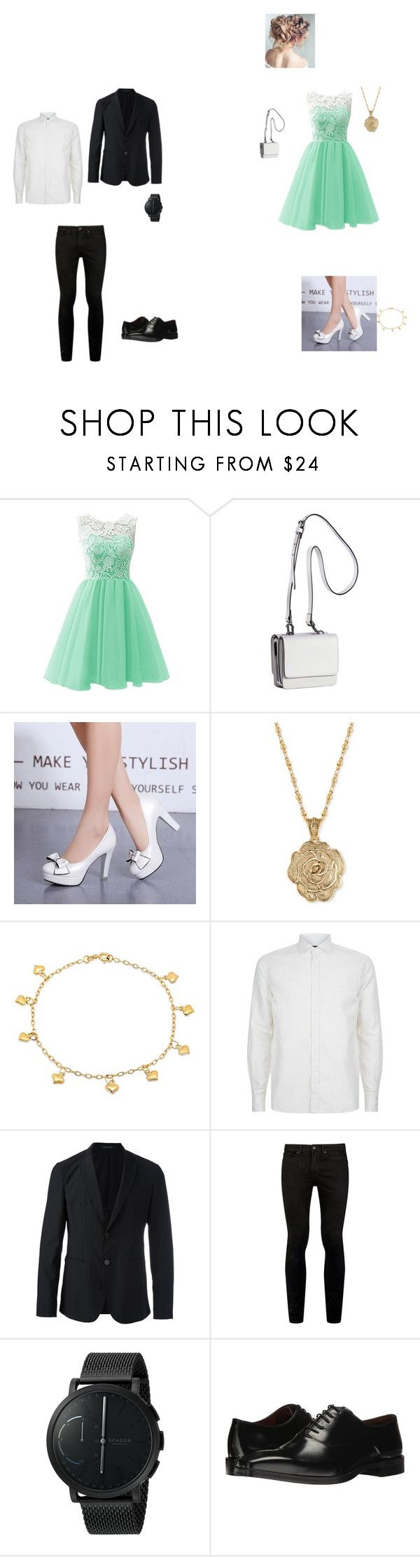 """To my love JA"" by raine-mcwaters ❤ liked on Polyvore featuring Kendall + Kylie, 2028, Sterling Essentials, Corneliani, Emporio Armani, Topman, Skagen and Massimo Matteo"