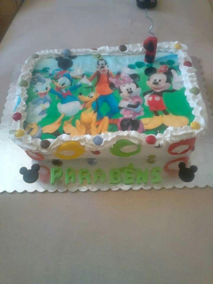 Mickey e amiguinhos