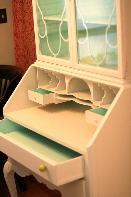 My finished secretary!!! by GoldWillow, via Flickr