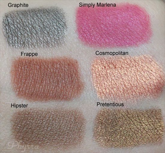 5 Beautiful New Shades from Makeup Geek Review and Swatches - Phyrra | Beauty for the Bold