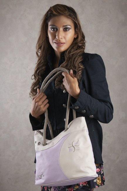 Liliano SE10E lila Deborah tassen double7 tassen-mode-nieuws