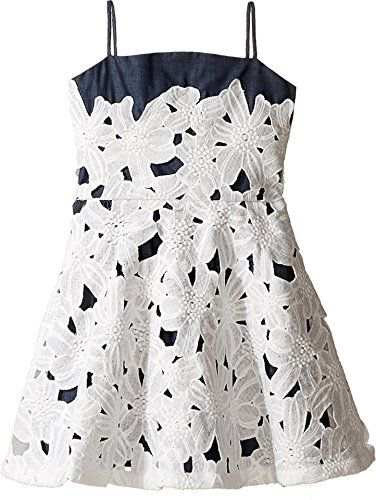 fiveloaves twofish Girl's Daisie's Denim Party Dress (Big Kids) Denim Dress