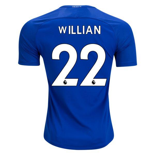 Nike Willian Chelsea Home Jersey 17/18