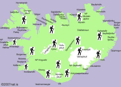 Bring FerðaAskur for the hiking routes/trails in Iceland - Fjallgönguleiðir á Íslandi #hiking #Iceland