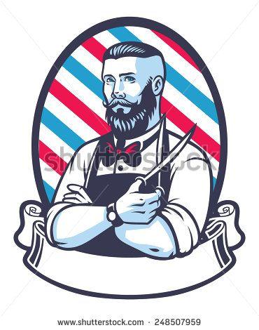 Стоковые вектора и векторный клип-арт Beard Man | Shutterstock