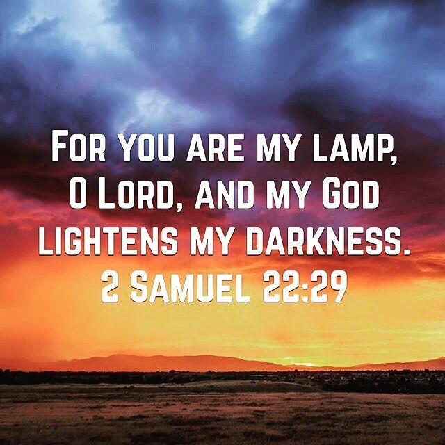Image result for oh lord lightens my darkness