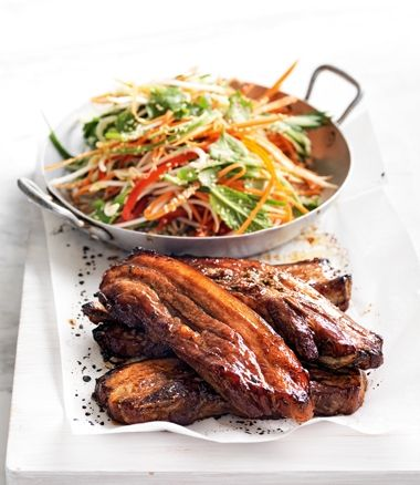 Chinese-Flavoured Pork Rashers & Coleslaw | In Season: Summer | MiNDFOOD