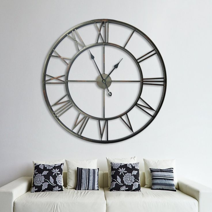 14 best Wall Clocks images on Pinterest Wall clocks Roman