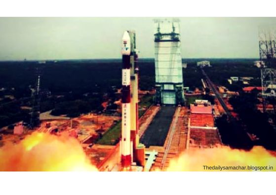 ISRO launched a new weather satellite.....