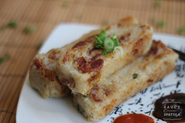 Turnip Cake (蘿蔔糕) | Saucy Spatula