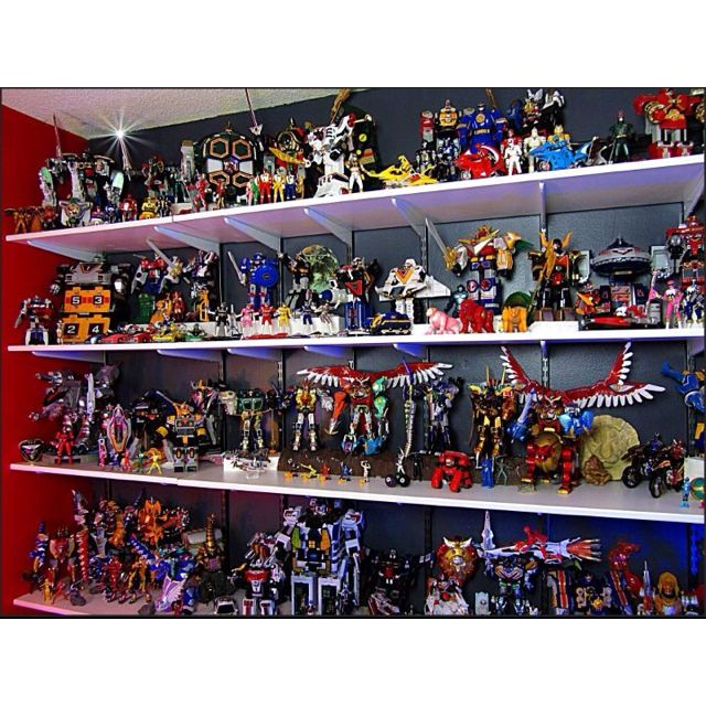 What Noah thinks Heaven is like Best Power Ranger Toy Collection I Have Ever Seen!