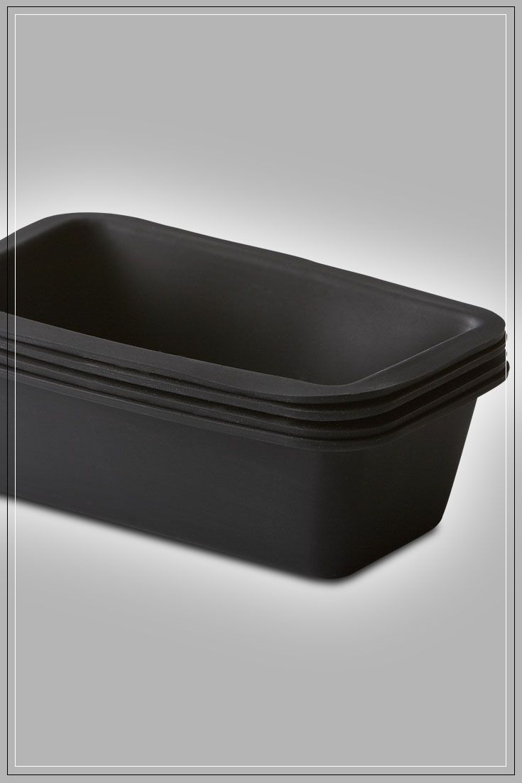 Silicone Mini-Loaf Pans: These flexible non-stick, easy release loaf pans are perfect for sweet and savoury loaves and breads. One standard loaf recipe fills 3 pans. Microwave, Oven, and Dishwasher Safe