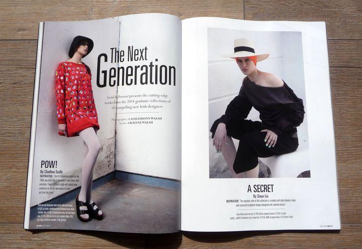 Social & Personal Editorial 2014