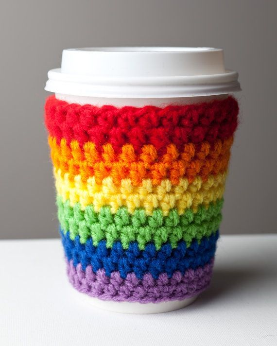 I love this cozy so much. I may try to make it on Spring break. The colors are so bright and happy. They make me think of a box of new crayons.