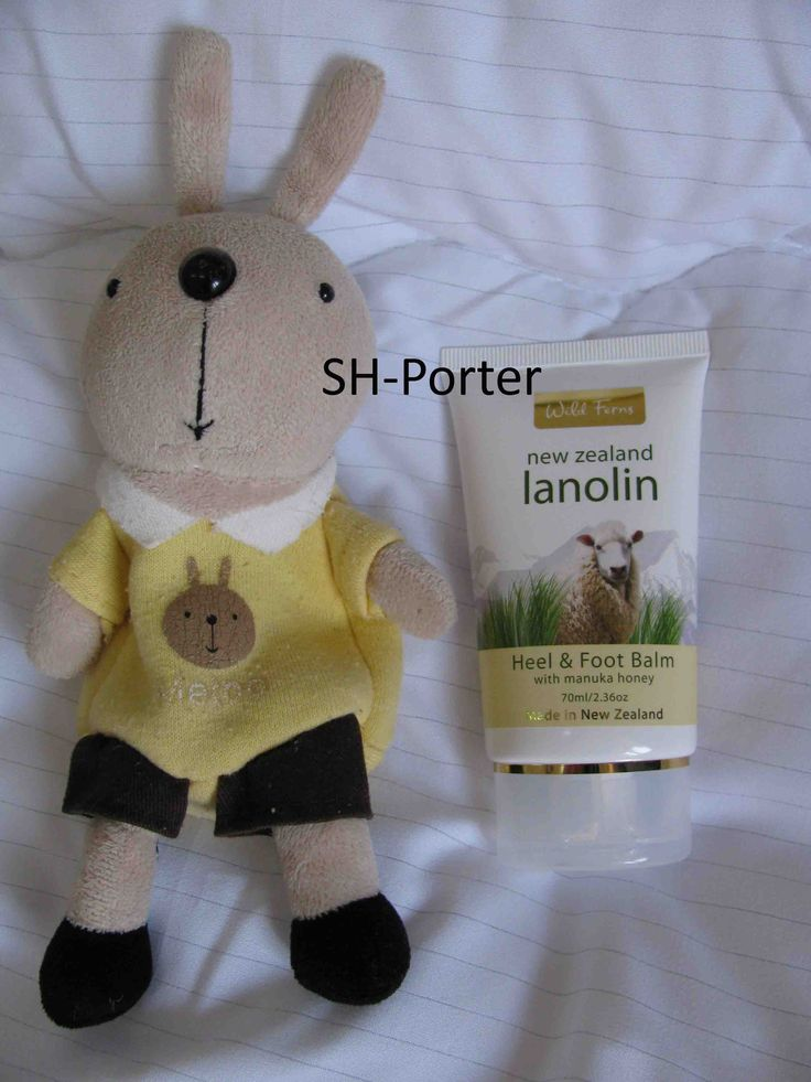 Wild Ferns Lanolin Heel & Foot Balm