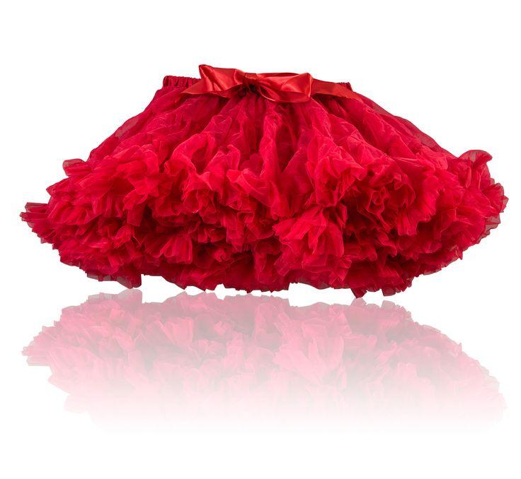 Romantisk tutu i rött!