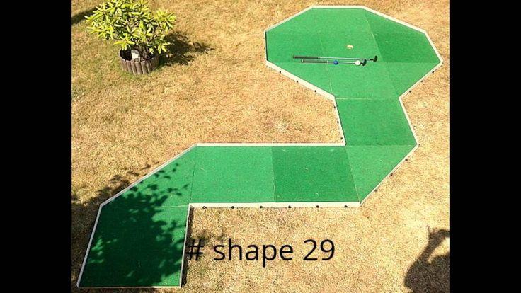 Gozzle, Minigolf im Garten. 1 Gozzle = 56 Shapes. #minigolf, #gozzle, #shapes, #formen, #PoleDoMinigolfa, #MinigolfCourse, #Minigolfplatz, #MinigolfDesign, #minigolfing #sportoutdoor #spaß #kreativ #fürkinder #minigolfcourse