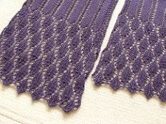 Summer Stream Scarf is a cotton scarf for summer season, consists of simple lace patterns. You can make it with only one skein of the yarn.