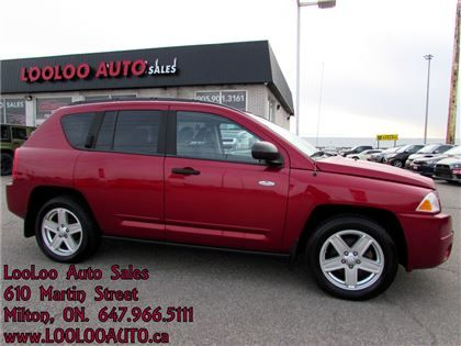 """Sport Utility - 2009 Jeep Compass Sport/North Edition Certified 2 Year Warranty in Milton, ON  $6,295"""