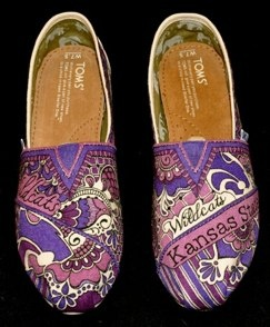 Custom designed Tom's, Kansas State, Football