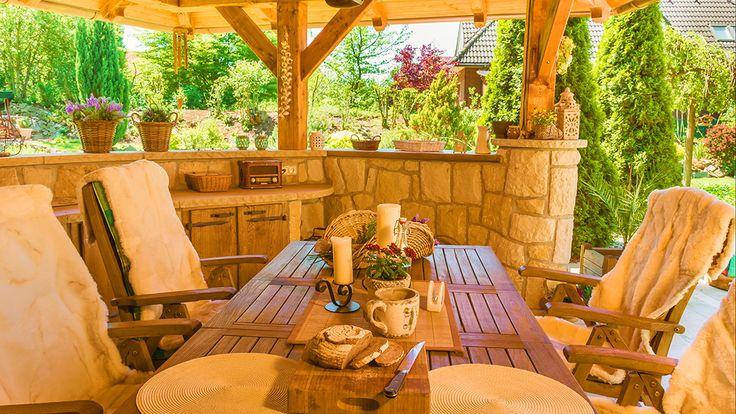 Kamenná kuchyně La Provence pohled 5