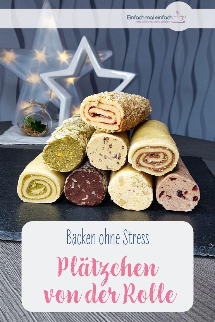 Kinder Weihnachtsgebäck.Plätzchen Von Der Rolle Recipe Ausgefallenes Weihnachtsgebäck