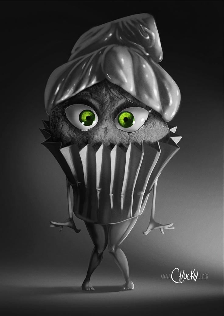 Miss Cupcake NOIR!!!