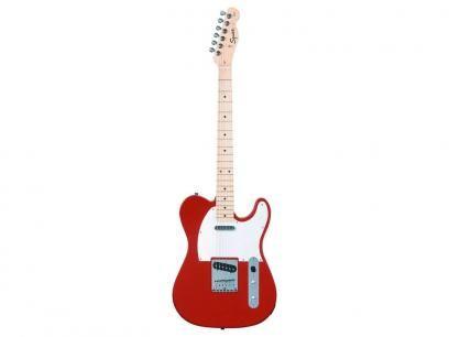 Guitarra Squier By Fender Tele Standard - Vermelho com as melhores condições você encontra no Magazine Raimundogarcia. Confira!