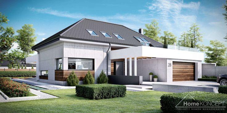 Projekt domu HomeKONCEPT 28 www.homekoncept.pl #projektdomu