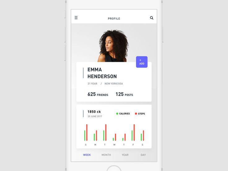 Sport app profile 19/90