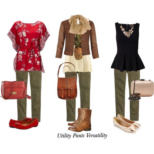 """Utility Pants Versatility"" by mindi-shaw on Polyvore"