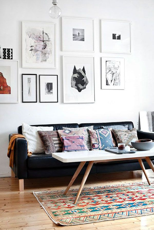 Apartment 34 | Six Tips for Hanging the Perfect Gallery Wall