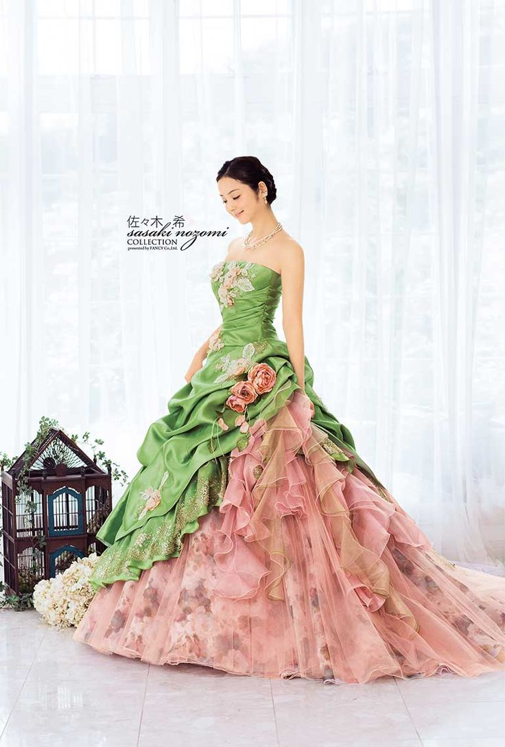 #Sasaki Nozomi - I'd wear a pink silk or satin bolero, to make it modest.