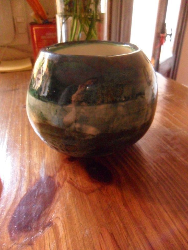 La bola cerámica. Esmaltado