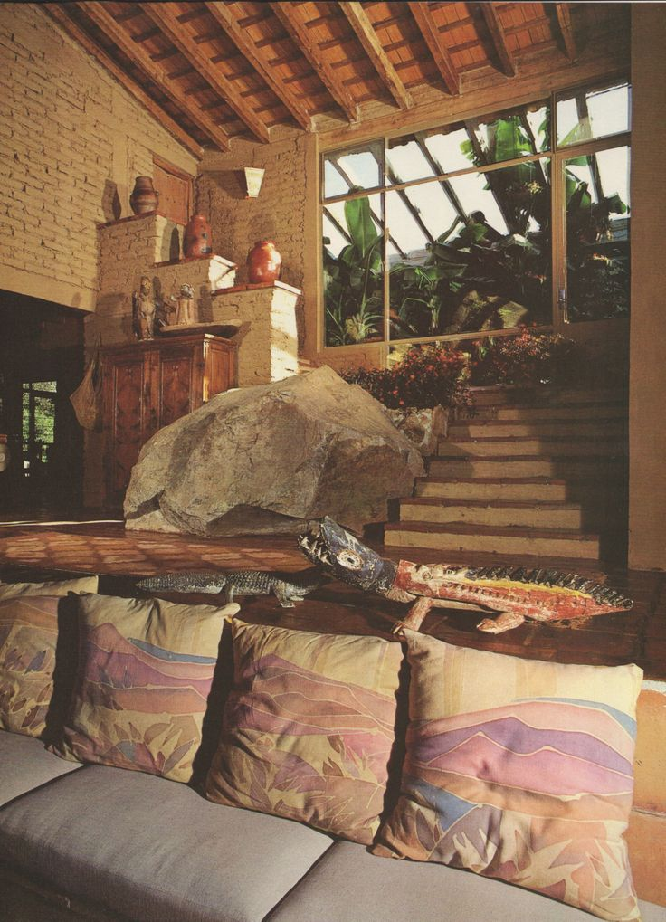 Vintage Home Interior Design: Architectural Digest, September 1984