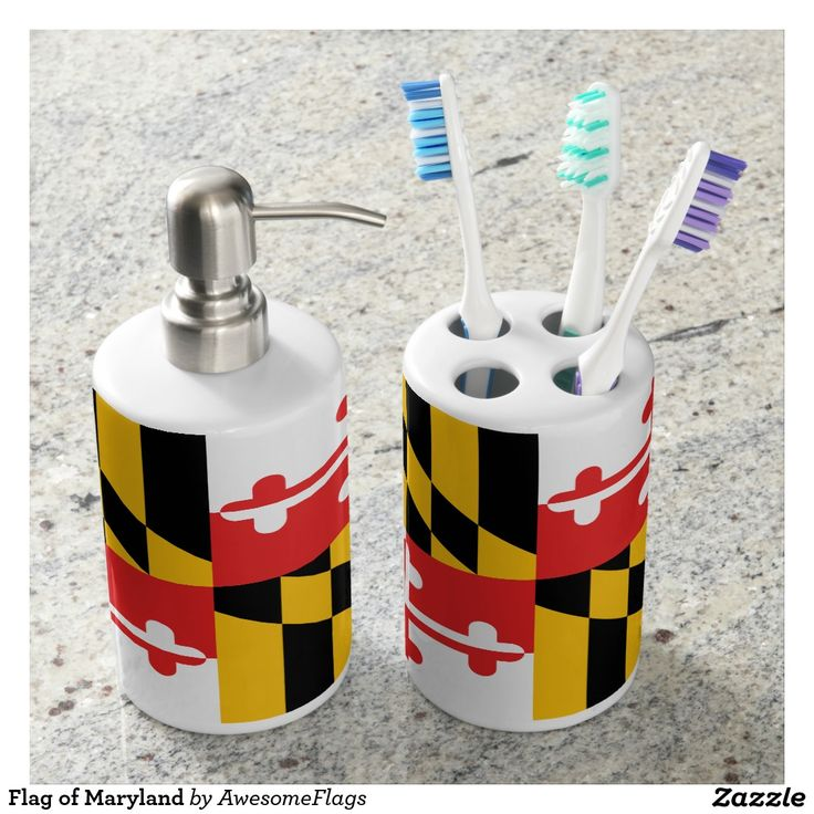 Flag of Maryland Soap Dispensers