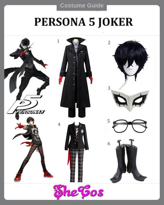 The Ultimate Guide To Persona 5 Joker Cosplay Ideas